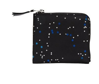 Adored by celebrities, Commes des Garcons is renowned for its simple and practically indestructible leather wallets. This Bright Star Wallet ($104) will help your wallet stand out from the inside of your handbag thanks to its white and blue stars. — Maria Mercedes Lara, associate editor