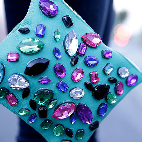 DIY: Jeweled Party Clutch