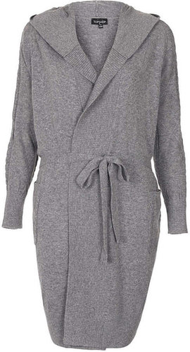 Cable Knit Robe