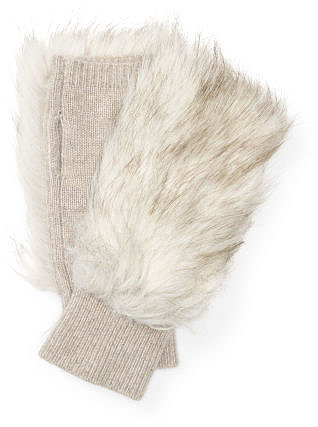 Lena Faux Fur Cashmere Glove