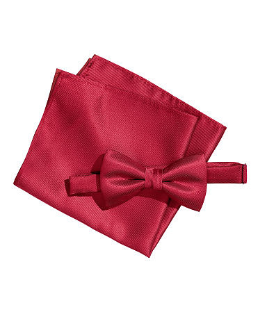 New Year's Eve parties are some of the best excuses to dress to the nines. This red bow tie and handkerchief set ($15) by H&M makes it easy for any guy to coordinate a dapper look.  — Nick Maslow, editorial assistant
