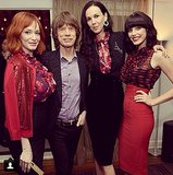 The ladies of Mad Men had the look of L'Wren Scott but moves like Jagger. Source: Instagram user jesspareforreal