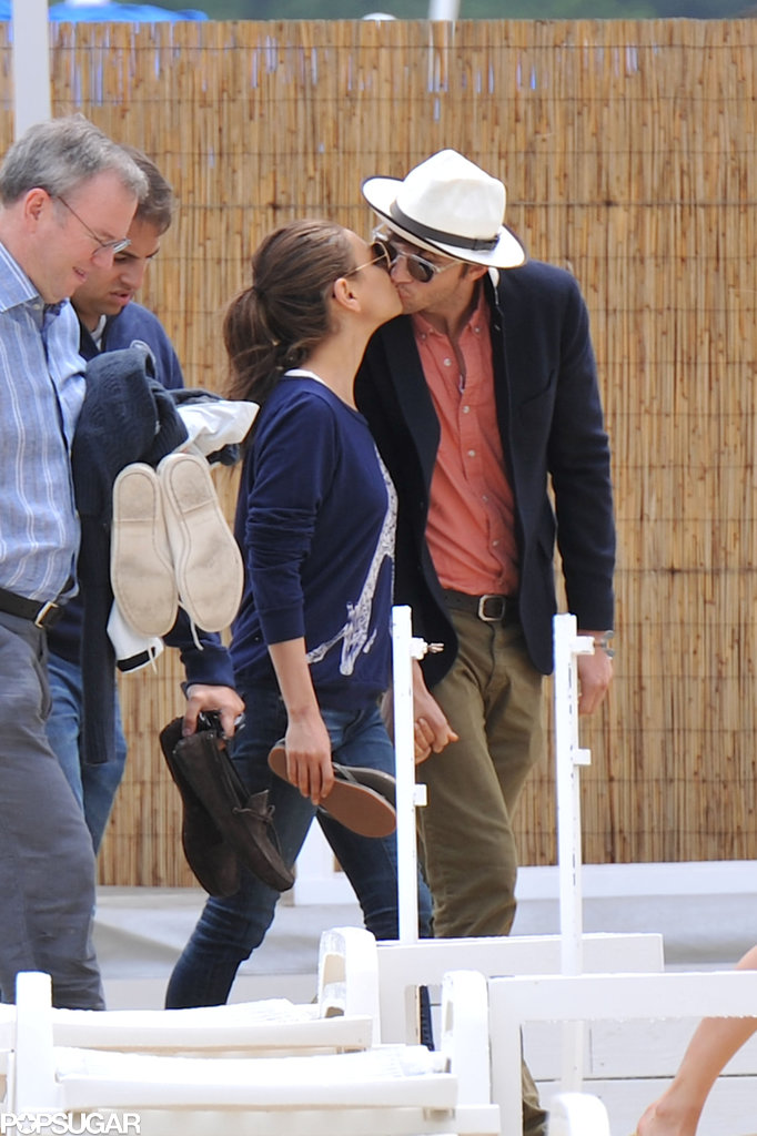 In June, Ashton Kutcher and Mila Kunis kissed during a vacation in Saint-Tropez with Princess Beatrice.