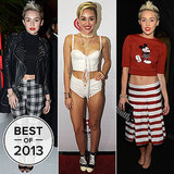 Miley Couldn't Stop, Wouldn't Stop Wearing Crop Tops in 2013