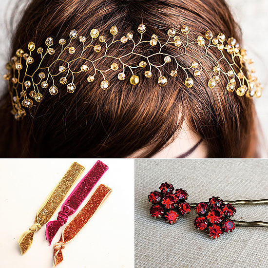 Pretty Christmas Hair Accessories