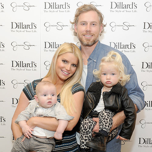 Jessica Simpson Family Pictures in Dallas Texas