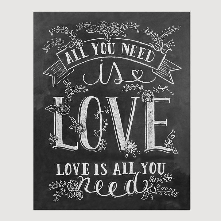 All you need is love ($24+)