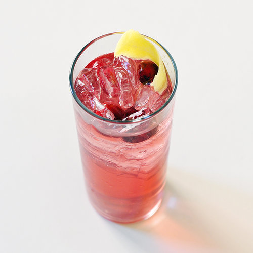 Festive Holiday Cocktail: Cranberry Limoncello Spritzer
