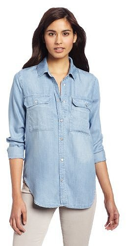 KUT from the Kloth Women's Chambray Shirt