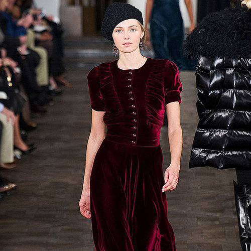 How to Wear Velvet in Winter