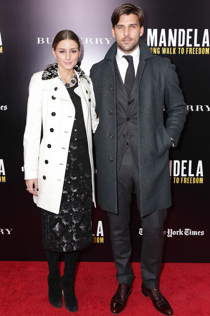 Olivia Palermo and Johannes Huebl at a screening of Mandela: Long Walk to Freedom.