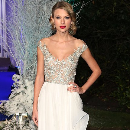 Taylor Swift Dress Winter Whites Gala 2013