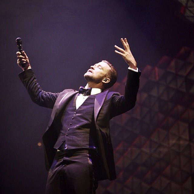 Justin Timberlake sang and danced his way through Tulsa, OK. Source: Instagram user justintimberlake