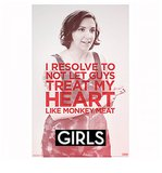 Girls Hannah's Resolution Poster ($10)