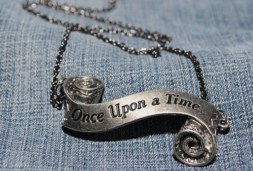 """Once Upon a Time"" Necklace ($15)"