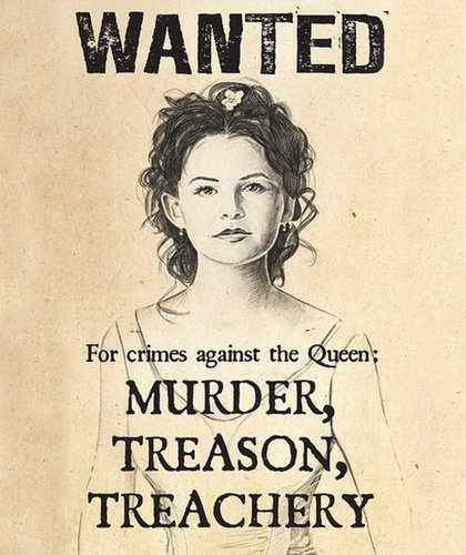 Once Upon a Time Wanted Poster ($40)