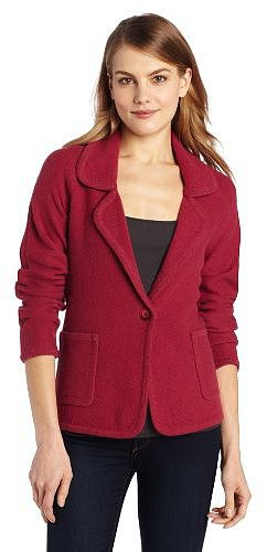 Pendleton Women's Aidan Boiled Wool Cardigan Sweater Blazer