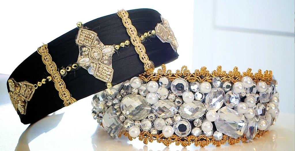 DIY: Jeweled Headband