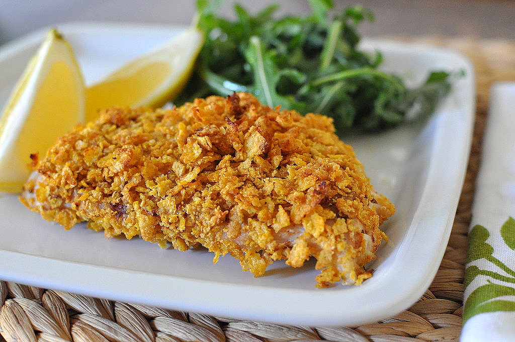 Monday: Cornflake-Crusted Snapper