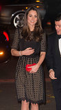 Kate Middleton stepped out in a black dress at the annual SportsAid gala in London.