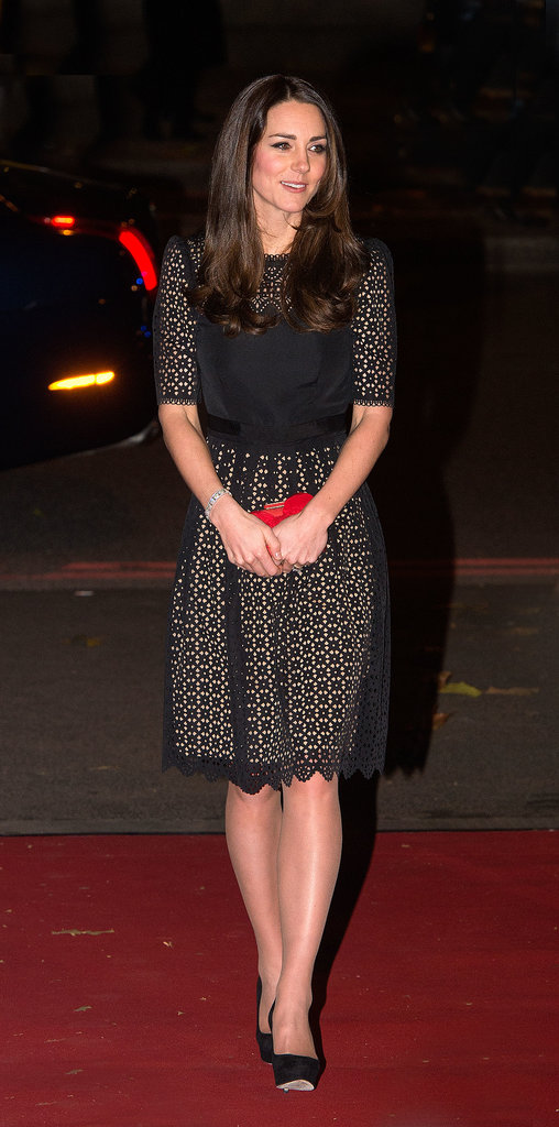 Kate Middleton was the guest of honor at the bash for SportsAid, of which she is a patron.