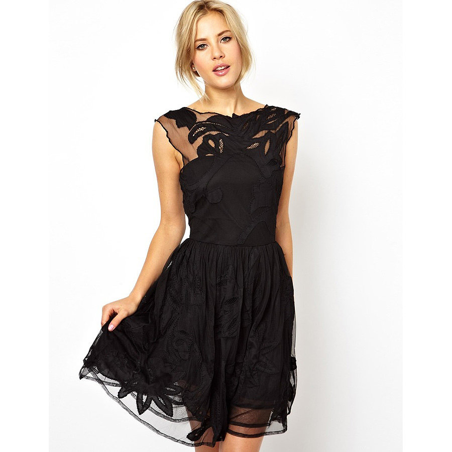 The best little black party dresses popsugar fashion uk for Little black wedding dress
