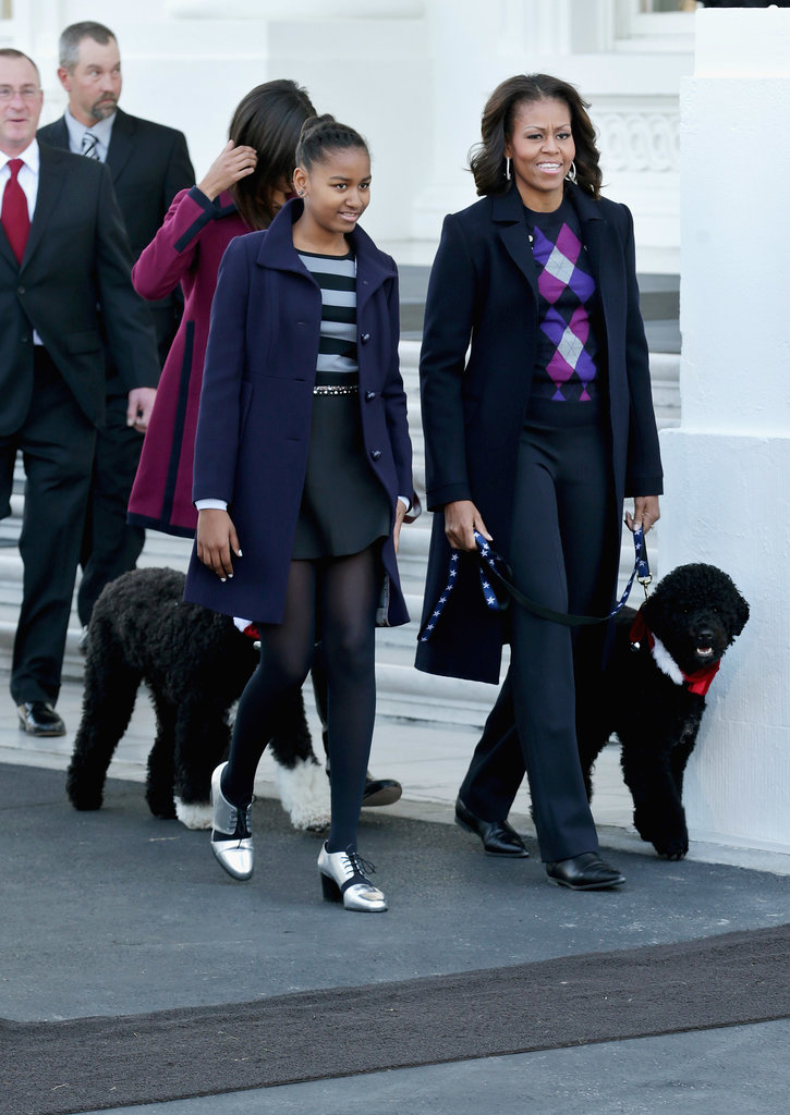 Michelle Obama Kicks Off a White House Christmas