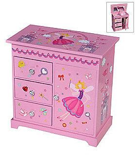 "Mele  Co Mele & Co. ""Krista"" Girl's Musical Ballerina Jewelry Box"