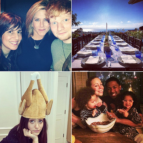 Stars Share Their Thanksgiving Celebrations on Social Media