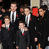 Beckham Family at Class of '92 Premiere