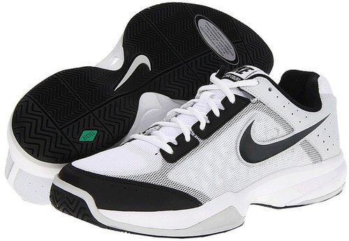 Nike - Air Cage Court (White/Black/Pure Platinum/Anthracite) - Footwear