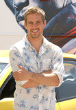 Paul Walker promoted 2 Fast 2 Furious in Madrid, Spain, in June 2003.
