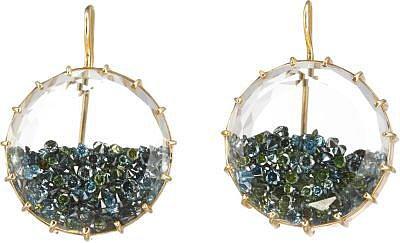 Renee Lewis Blue Diamond 'Shake' Earrings