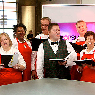 Starbucks Chorus Singing Holiday Songs