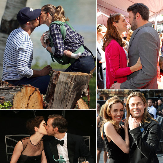 The Best Celebrity PDA Moments of 2013