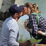 Celebrity Kissing Pictures From 2013