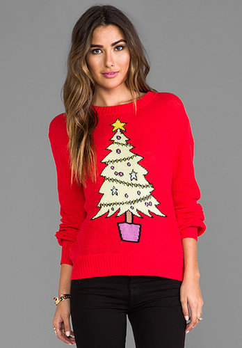 Wildfox Couture Baby Christmas Tree Sweater