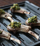 Lamb Chops With Mint-Pistachio Pesto