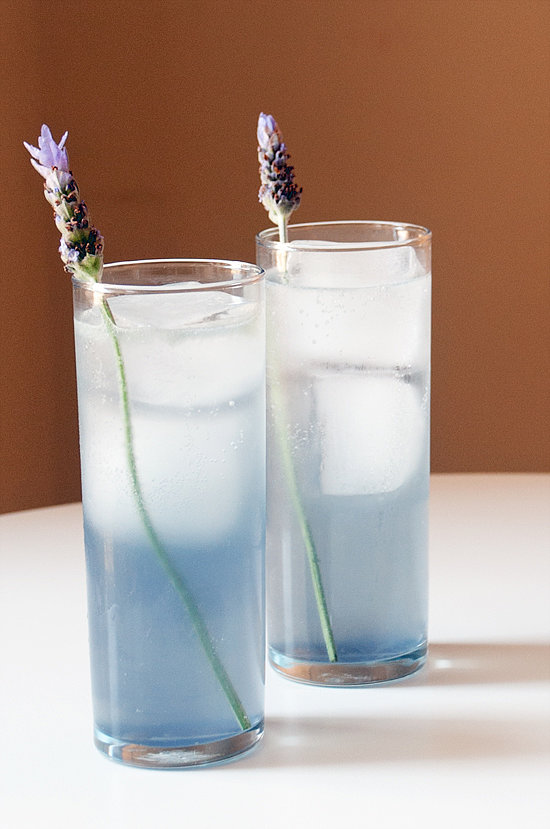 Easy: Lavender Collins Cocktail
