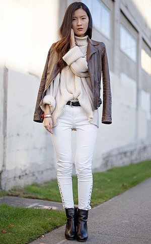 Yes, You Can Wear White All Winter Long