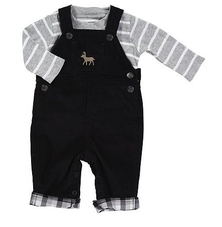Carter's Holiday Overall Set