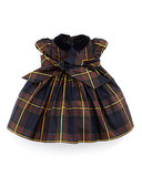 Ralph Lauren Silk Tartan Plaid Dress