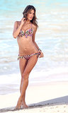 Alessandra Ambrosio modeled bikinis for Victoria's Secret during a January photo shoot in St. Barts.