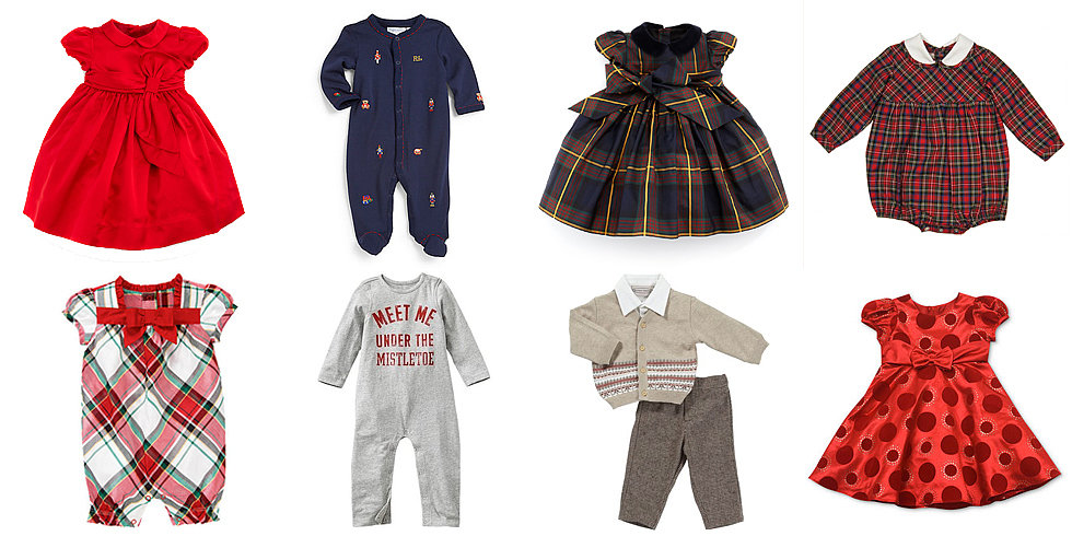 15 Adorable Outfits For Baby's First Christmas