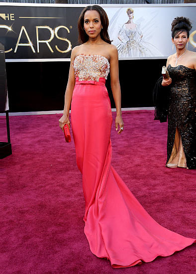 6. Kerry Washington in Miu Miu at the Academy Awards