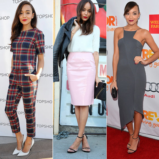 Wardrobe Watch: Ashley Madekwe