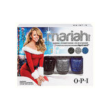 Mariah Carey's classic Christmas album is getting the nail polish treatment, and the OPI Mariah Carey Liquid Sand Mini Pack ($10) comes with three glittery polishes that dry matte for a textured effect.
