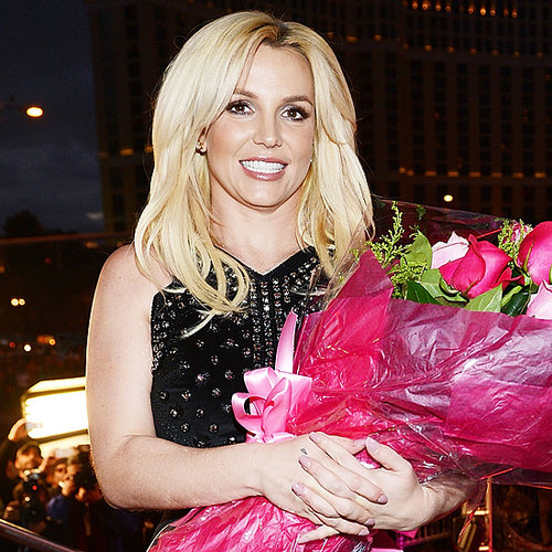 Britney Spears Arrival at Planet Hollywood in Las Vegas