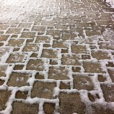 Geometric Snow Patterns