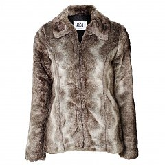 Fast Short Faux Fur Jacket